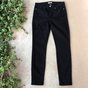 Good American Good Legs Black Stretchy Skinny Jean